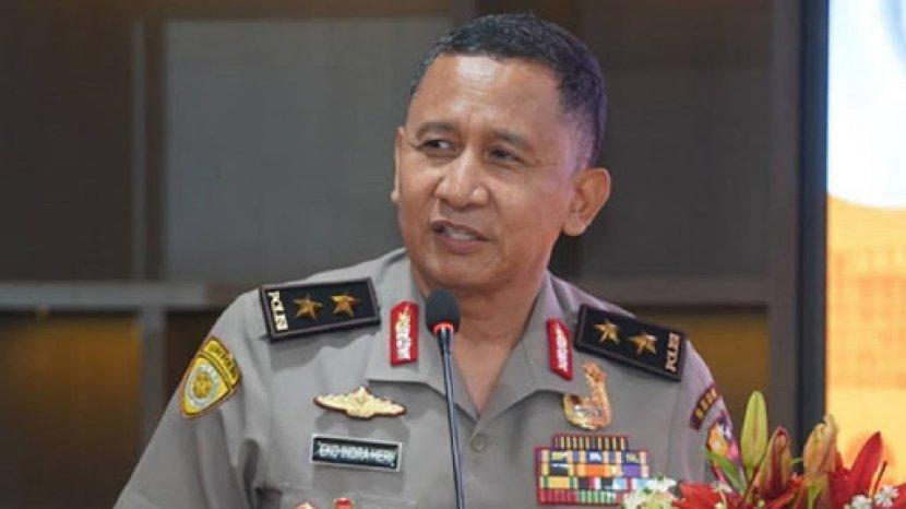 Kapolda Sumsel Irjen Pol Prof Eko Indra Heri Resmi Digantikan Irjen Pol Drs Toni Harmanto