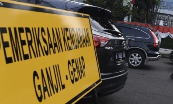 4 Ruas Jalan di Kota Palembang Berlaku Sistem Ganjil Genap