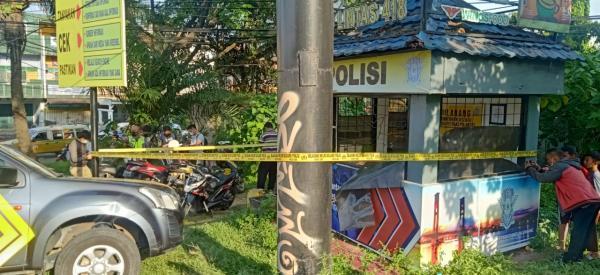 Anggota Lantas Ditikam OTD di Pos Simpang Angkatan 66