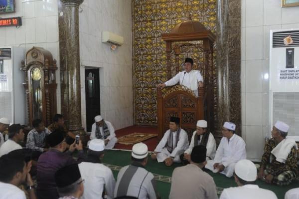 Aspek Keagamaan Menjadi Konsen HD Wujudkan Sumsel Maju untuk Semua
