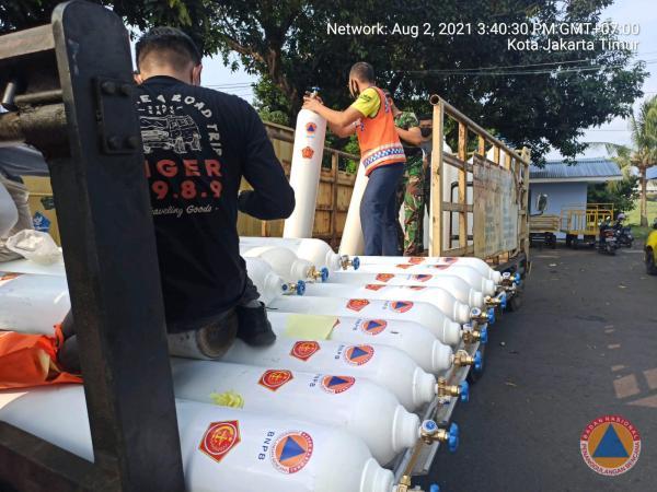 BNPB Kirim 150 Ribu Masker dan 50 Tabung Oksigen ke Papua Barat