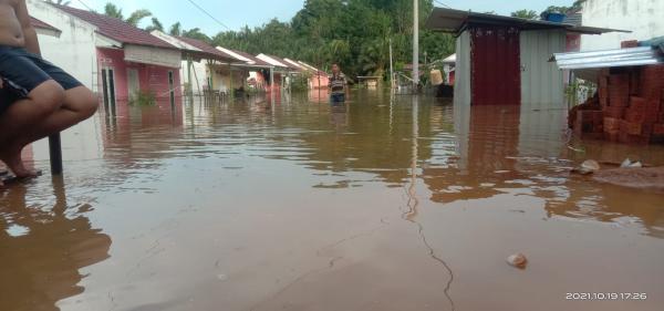 Banjir Kepung Kota Bengkulu, 500 Kepala Keluarga Mengungsi