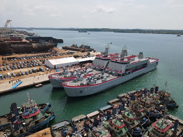 Dua Kapal Perang Siap Perkuat Alutsista TNI AL