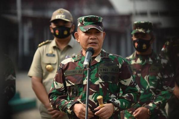 Dudung Jabat Pangkostrad, Eko Kasum TNI dan Mulyo Aji Pangdam Jaya