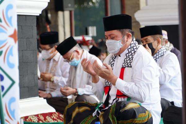 Gelar Doa Bersama, Gubernur Sumsel Bantu Ambulans untuk Palestina