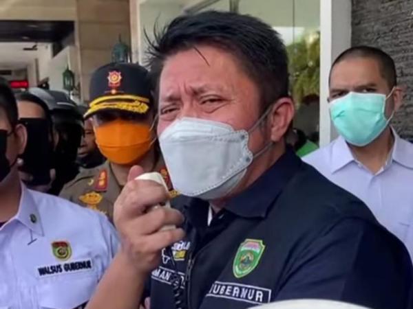 Gubernur Datang Ojol Senang