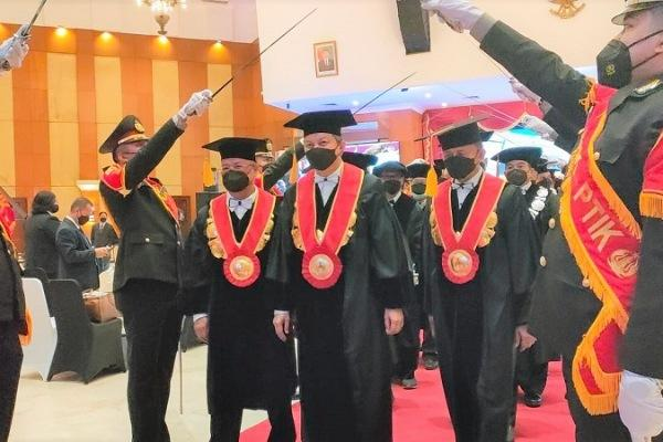 Irjen Eko Indra Heri Resmi Menjadi Guru Besar STIK-PTIK