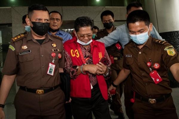 Mukti Sulaiman dan A Nasuhi Ditahan Kejati Terkait Dugaan Korupsi Masjid Sriwijaya