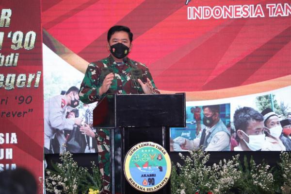 Panglima TNI : Dengan Persatuan dan Kesatuan Semua Dapat Diselesaikan Dengan Baik