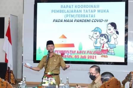 Pembelajaran Tatap Muka di Palembang Batal