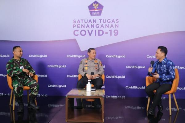 Peran Polri dan TNI Implementasikan Instruksi Presiden Nomor 6 Tahun 2020