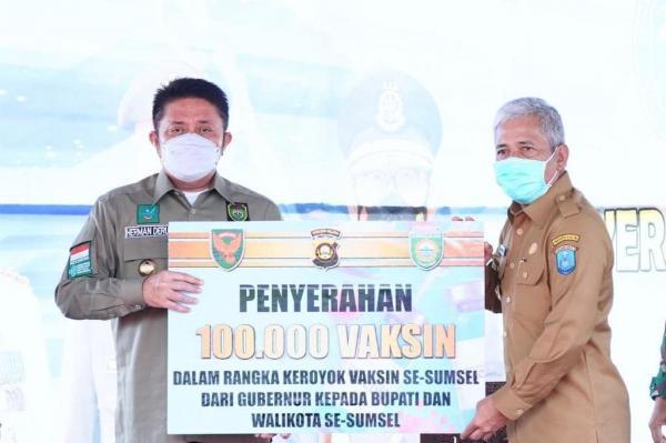 Percepat Herd Immunity Masyarakat, Herman Deru Serukan Vaksinasi di 17 Kabupaten/kota