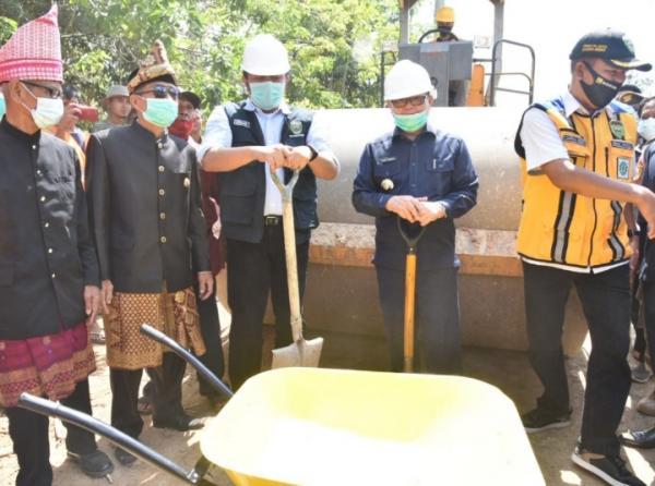 Percepat Kemajuan Muratara, Herman Deru Benahi Infrastruktur dan Bangun Pasar Induk