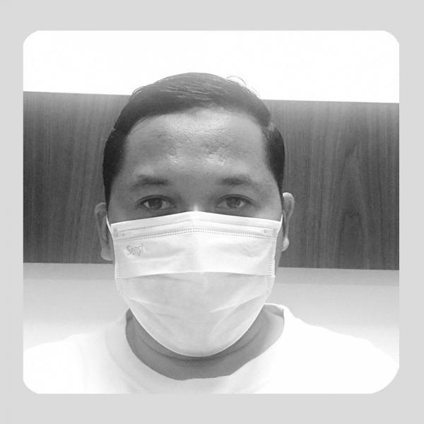 Perjalanan Mental, Spiritual Adi Yanto Melawan Virus Corona