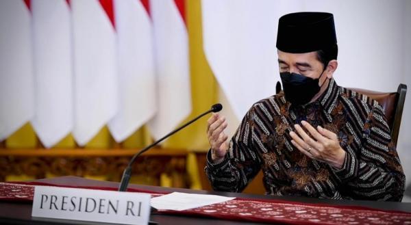 Presiden Jokowi Ajak Seluruh Elemen Bangsa Ikhtiar Melawan Pandemi Covid-19