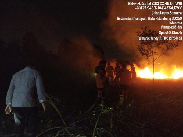 Satgas Gabungan Padamkan 4,04 Ha Lahan Terbakar di Ogan Ilir