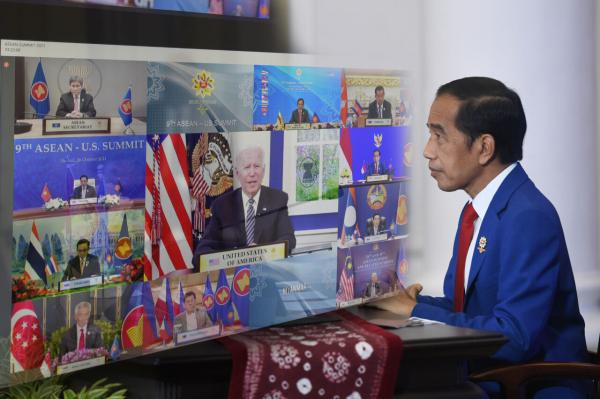 Sebagai Koordinator Kerjasama ASEAN-AS, Presiden Jokowi Menyampaikan 3 Harapan