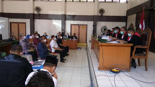 Sekwan dan 3 Anggota DPRD Sumsel Aktif Dihadirkan Sebagai Saksi Korupsi Masjid Sriwijaya