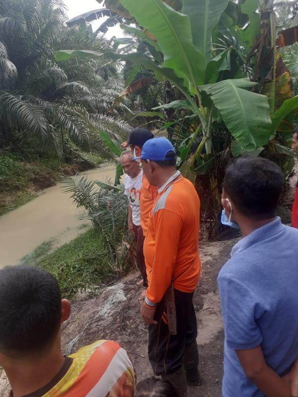 Sungai Merbau Meluap, Rendam 5 Desa di Labuhan Batu Utara
