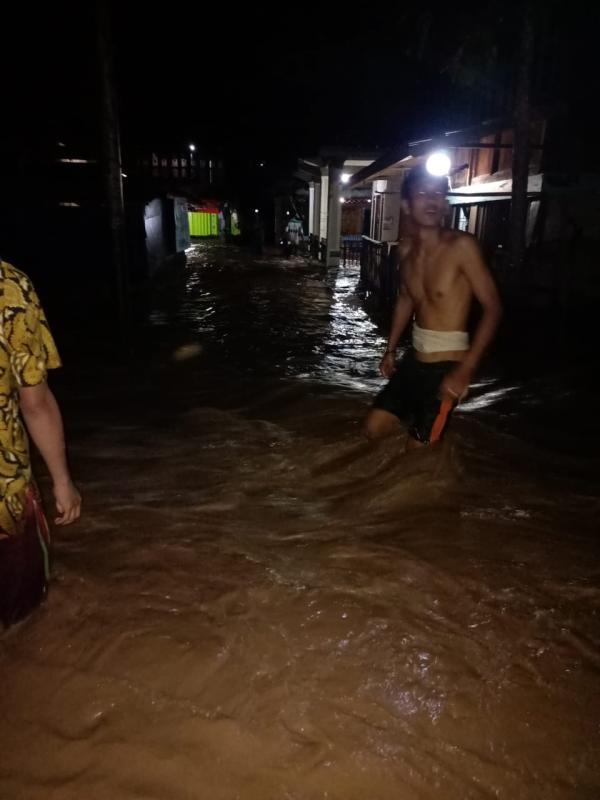 Sungai Ogan Meluap, 140 Rumah Terdampak Banjir di Ogan Komering Ulu