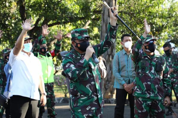TNI-Polri Bantu Siapkan Fasilitas Isoman dan Isoter di Setiap Wilayah