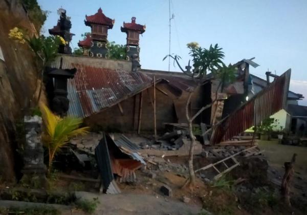 Update : 2.303 Rumah Warga Karangasem dan Bangli Rusak Akibat Gempa
