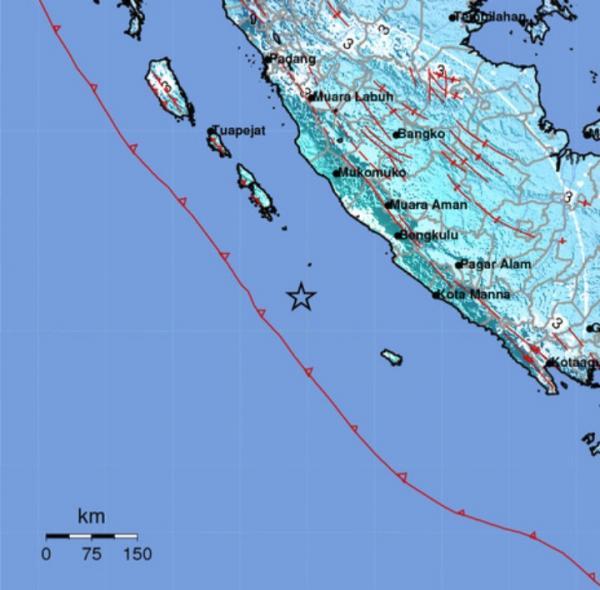 Warga Rasakan Gempa Kuat M6.6 Saat Guncang Kota Bengkulu