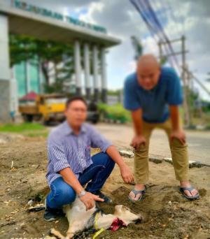 Alex Noerdin Tersangka 2 Kasus Korupsi, Maki Sumsel Sembelih Kambing